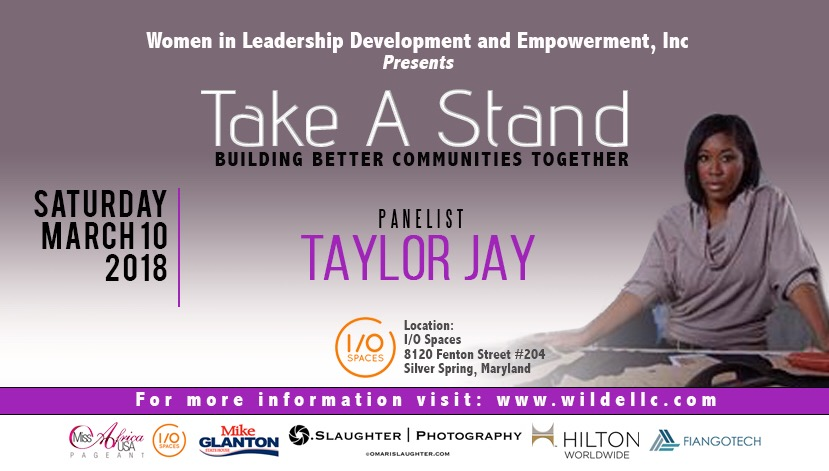 Turning Her Pain Into Passion, Fashion Guru And The Brains Behind The Taylor Jay Collection Joins The Take A Stand Movement