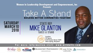 State Representative Mike Glanton Takes A Stand