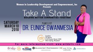 She's An Educator, Healthcare Professional, Speaker And Author; Dr. Eunice Gwanmesia Takes A Stand!