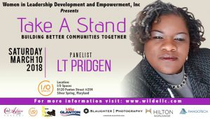 From Survivor To Warrior, LT Pridgen Joins The Take A Stand Movement As A Panelist For the Upcoming Brunch
