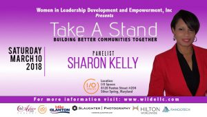 Virtuous Spirit-filled Wife, Mother Of Six, Finance Professional, And Orator, Sharon Kelly, Takes A Stand And Joins Our Panel of Powerful Speakers