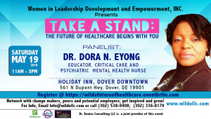 Critical Care And Psychiatric Mental Health Nurse And Educator, Dr. Dora Eyong, Takes A Stand!