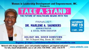 Administrator and Social Work Educator, Dr. Marlene A. Saunders, Takes A Stand!